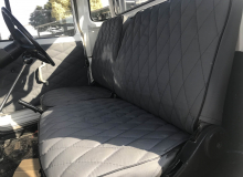 Diamond Stitch Canvas Interior (2)